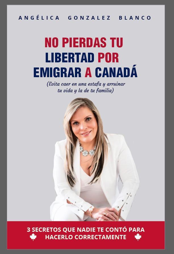 ANGÉLICA GONZÁLEZ DA A CONOCER SU LIBRO 'NO PIERDAS TU LIBERTAD POR EMIGRAR A CANADÁ'