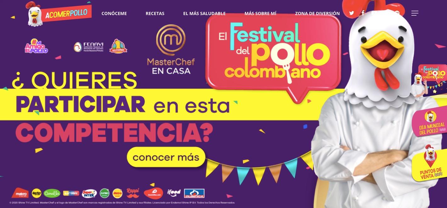 Fenavi llevará a cabo nueva edición del Festival del Pollo con dos concursos que premian las recetas con pollo: 'MasterChef en Casa' y 'Juega y Gana con Mi Amigo El Pollo'