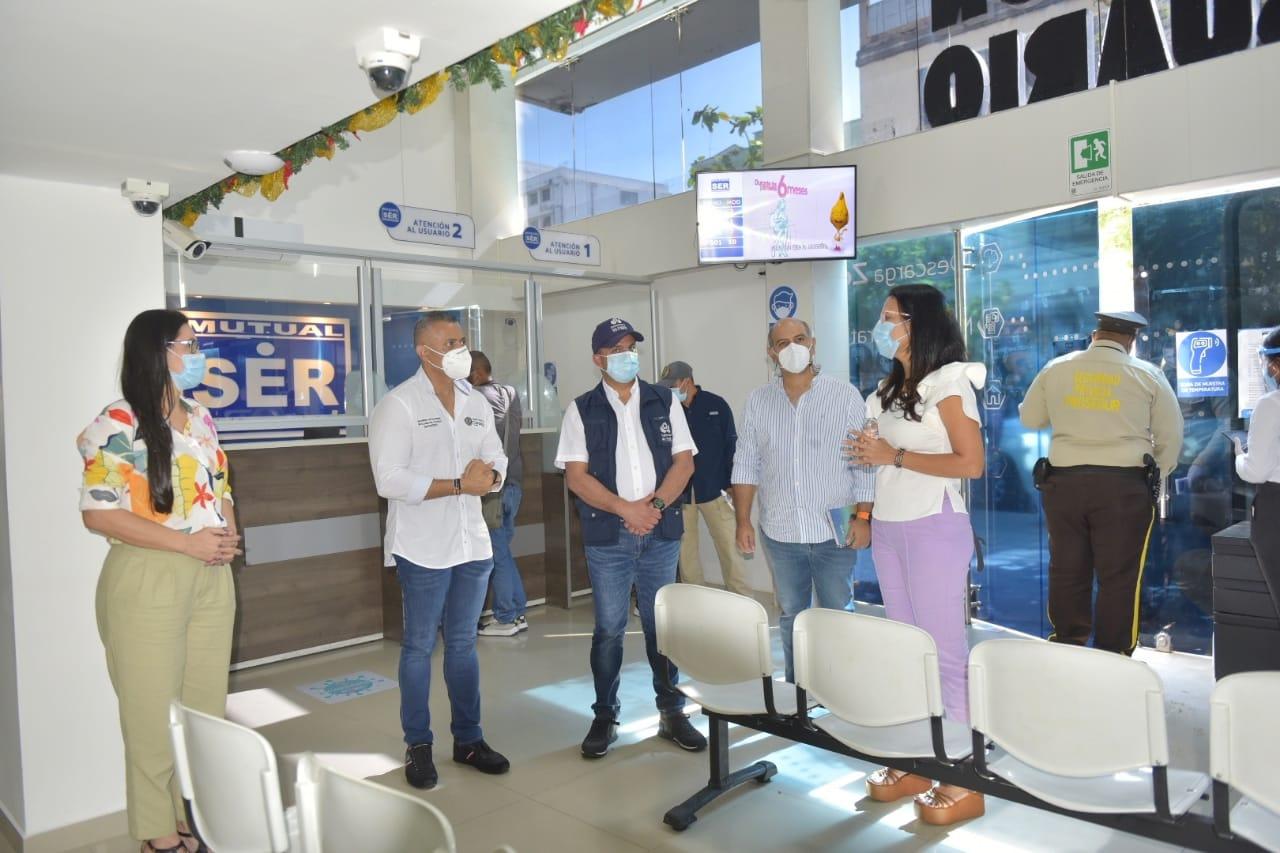 Defensor del Pueblo realiza visita de seguimiento pa-ra verificar prestación de servicios de salud en  Montería, Córdoba
