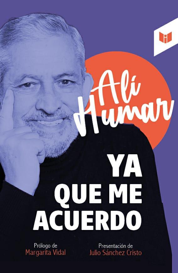 """Ali Humar. lanza su nuevo libro """"YA QUE ME ACUERDO"""""""