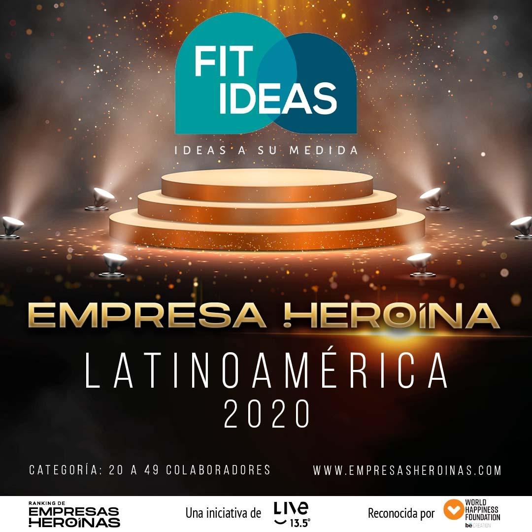 FIT IDEAS, PYME COLOMBIANA RECONOCIDA POR PROPORCIONAR FELICIDAD A SUS COLABORADORES