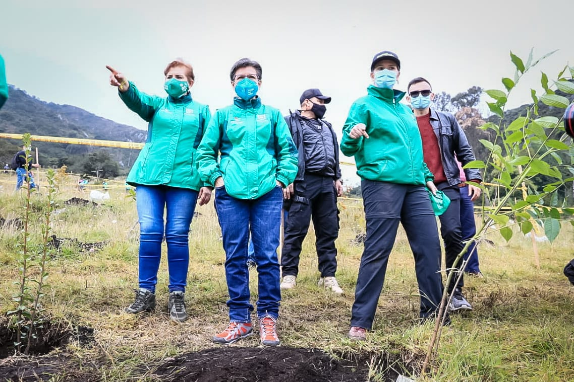 Distrito y comunidad multiplican sus fronteras verdes con diez mil nuevos árboles para Bogotá