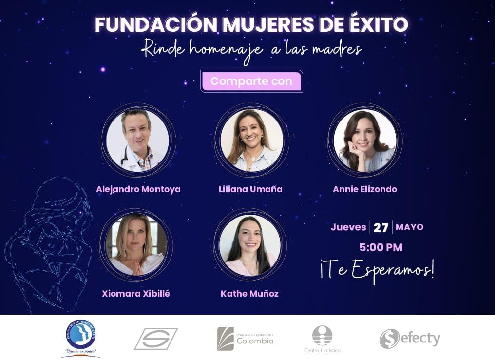 Fundación Mujeres de Éxito rinde homenaje a las Madres