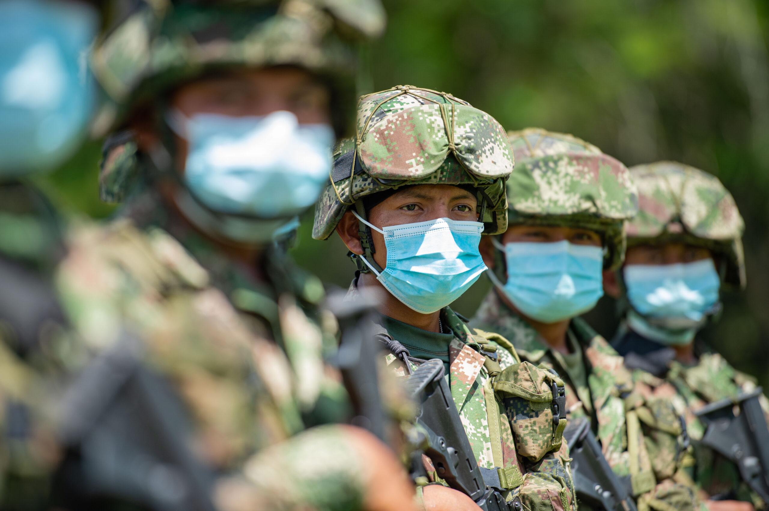 Indígenas wayúu hacen parte de los tres mil soldados profesionales que combatirán el narcotráfico en Colombia