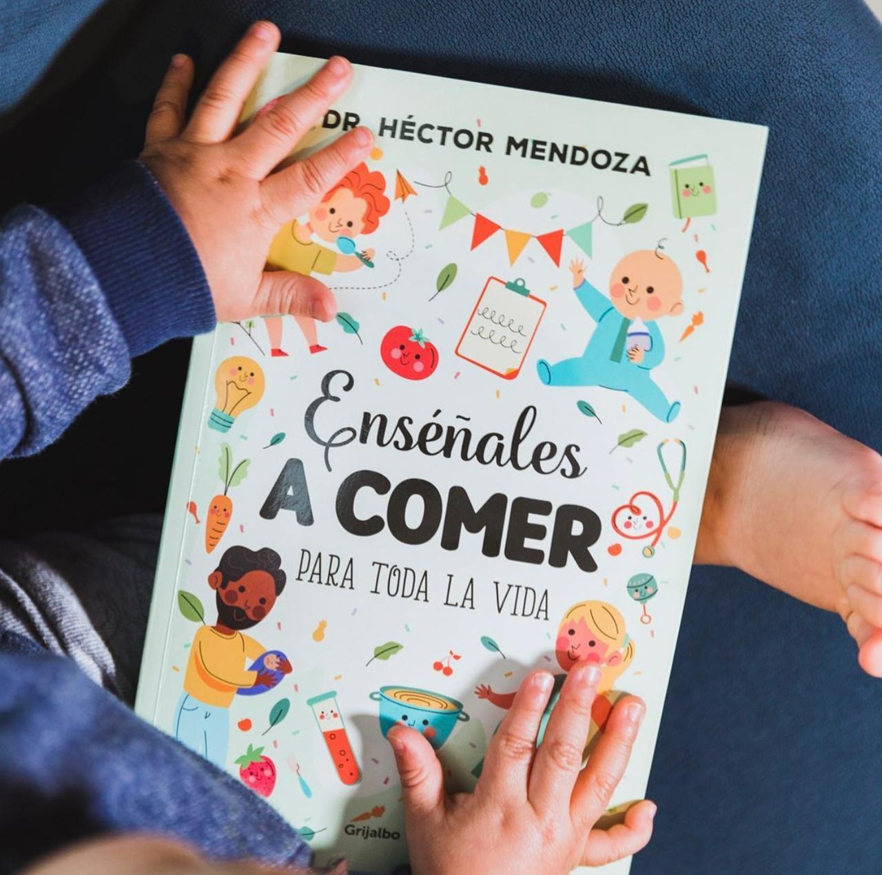"""El libro guía perfecto para toda la familia, """"Enséñales a comer para toda la vida"""""""