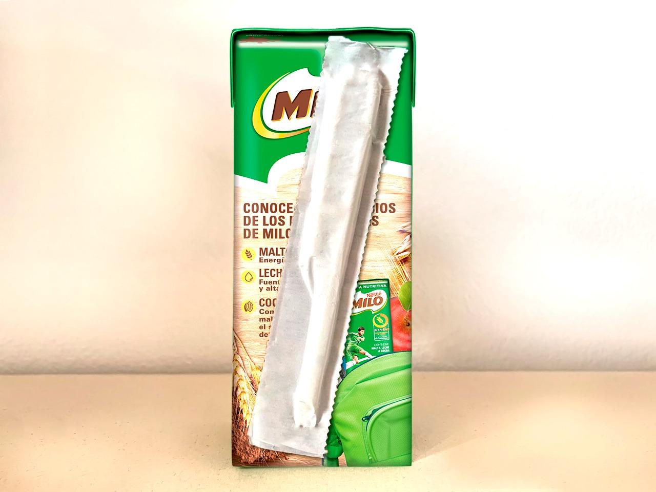 Nestlé Colombia dejará de usar 10 millones de pitillos y bolsas plásticas al año reemplazándolos con innovaciones de papel para MILO® y KLIM® en Cajita.