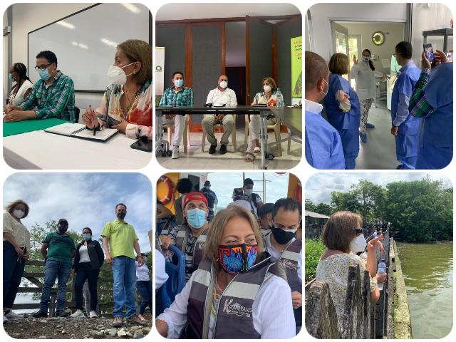 La gerente del ICA recorrió las zonas más apartadas de Antioquia y Chocó para fortalecer y avanzar en los procesos sanitarios del sector agropecuario