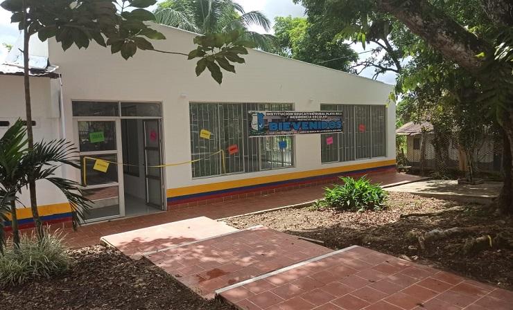 Gobierno Nacional entrega la renovación de la residencia escolar de la Institución Educativa Rural Playa Rica en Valparaíso, Caquetá