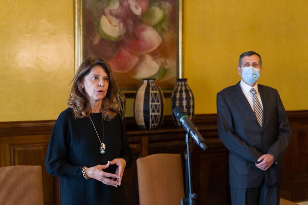 Declaraciones de la Vicepresidente y Canciller, Marta Lucía Ramírez, sobre situación de Haití