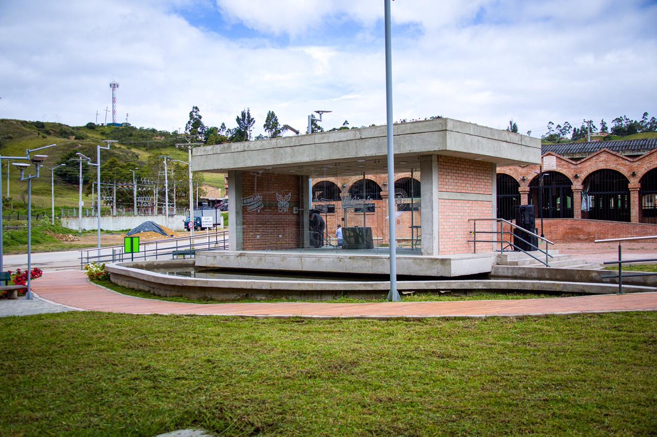 La CAR entregó parque a orillas del río Bogotá en el municipio de Villapinzón