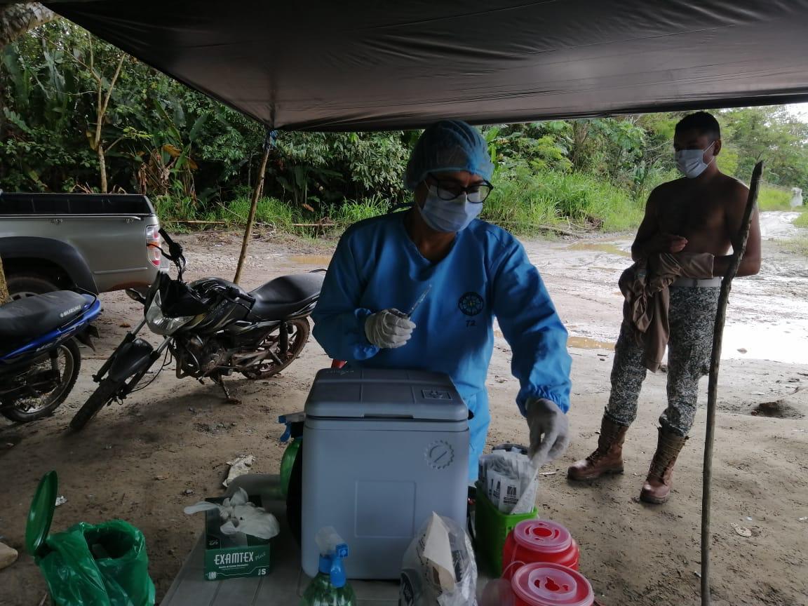 Vacunar contra covid-19, un orgullo desde Guaviare