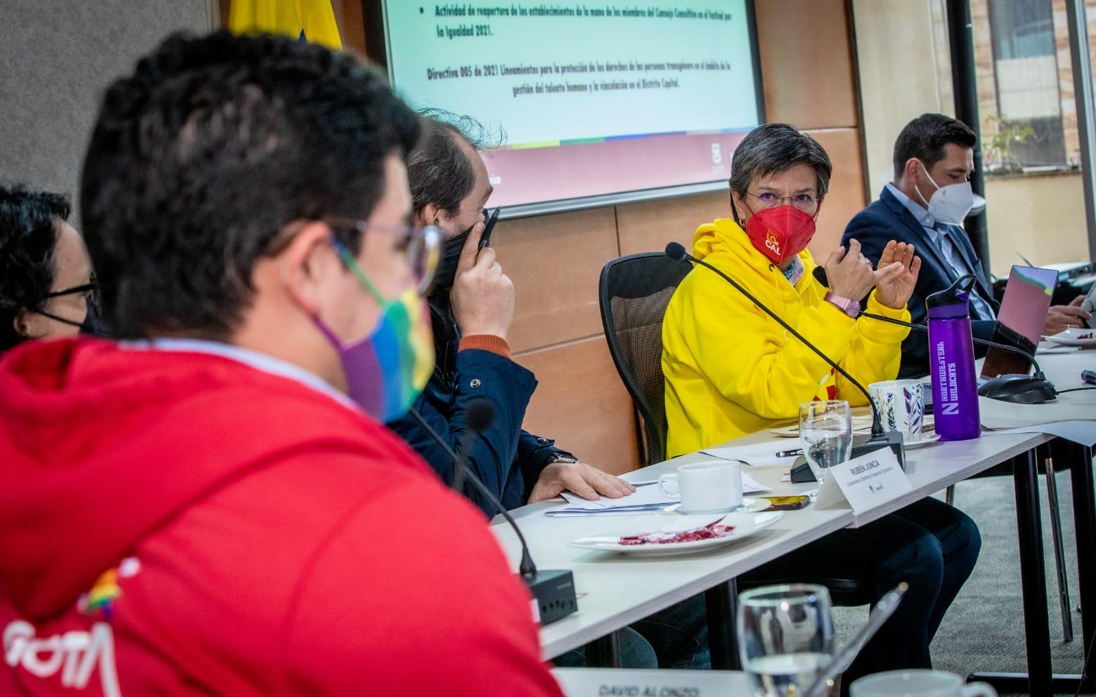 Sectores LGBTI ya tienen vigía de seguridad y proyectos para educación y rescate económico y social