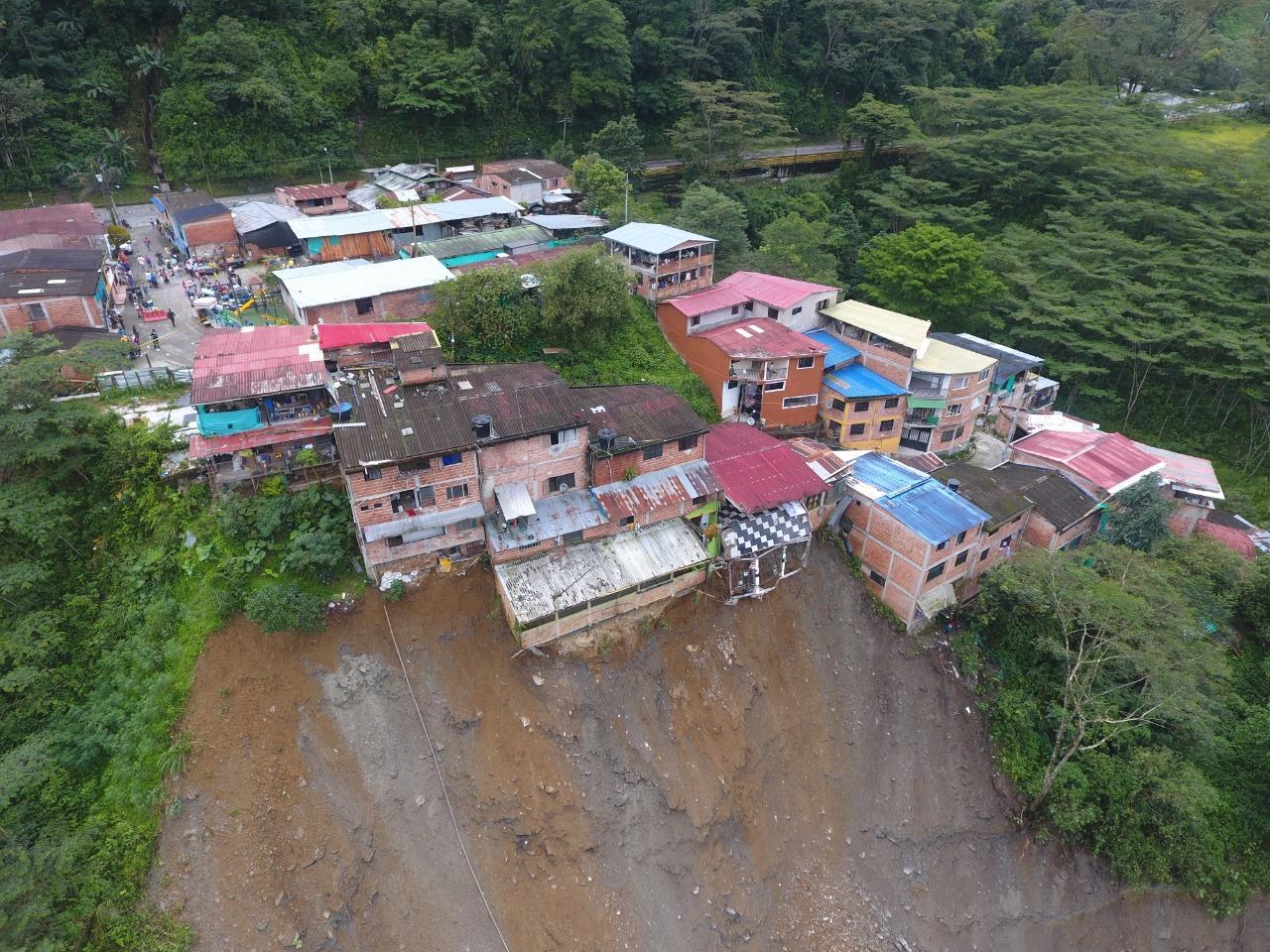 Oportuna evacuación de Guayabetal evitó lesionados por cuenta de la emergencia invernal