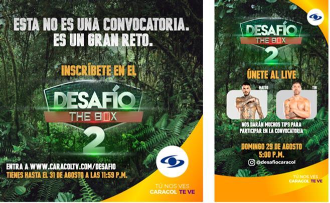 ¡QUEDAN 5 DÍAS PARA CERRAR LAS INSCRIPCIONES DEL DESAFÍO THE BOX 2!