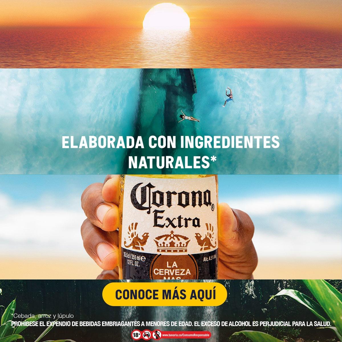 ¿Por qué Cerveza Corona le da la vuelta a su icónica botella?