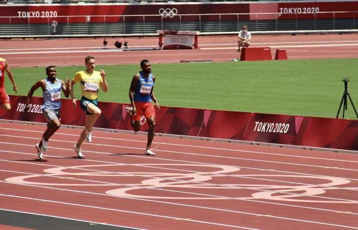 Décima jornada: Anthony Zambrano se clasificó a la final de los 400 metros planos