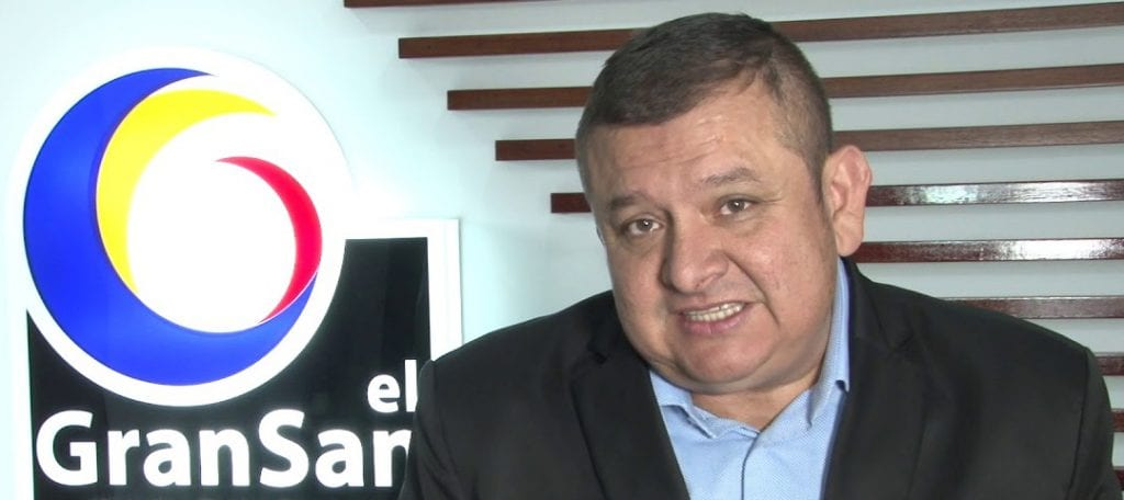 Yansen Estupiñan, gerente del Gran San se despide de su cargo