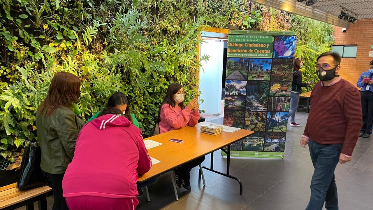 Jardín Botánico de Bogotá realizó primer espacio de diálogo ciudadano 2021
