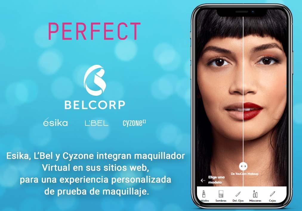 Belcorp transforma digitalmente su experiencia de compra a través de tecnología de prueba virtual basada en IA y RA