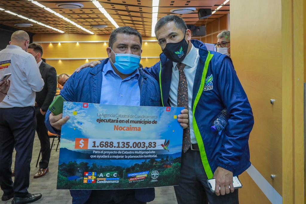 CAR destinará $50 mil millones para actualización catastral de 25 municipios de Cundinamarca