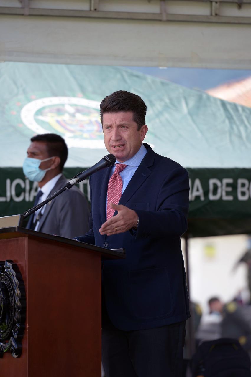 Llegan 500 nuevos policías para combatir el crimen en Bogotá