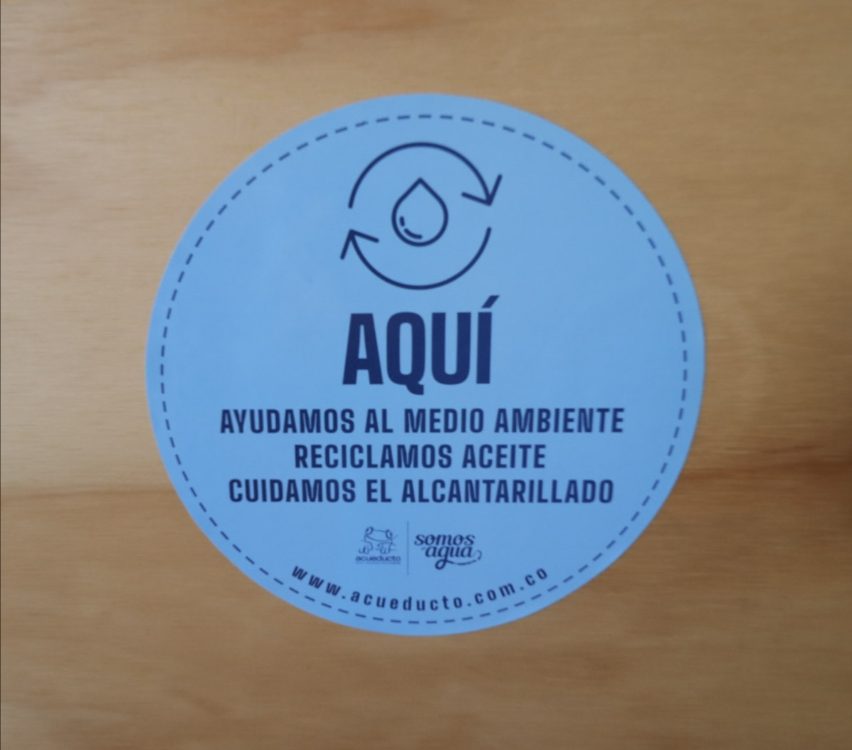 Acueducto de Bogotá y Fedepalma promueven uso adecuado del aceite de cocina