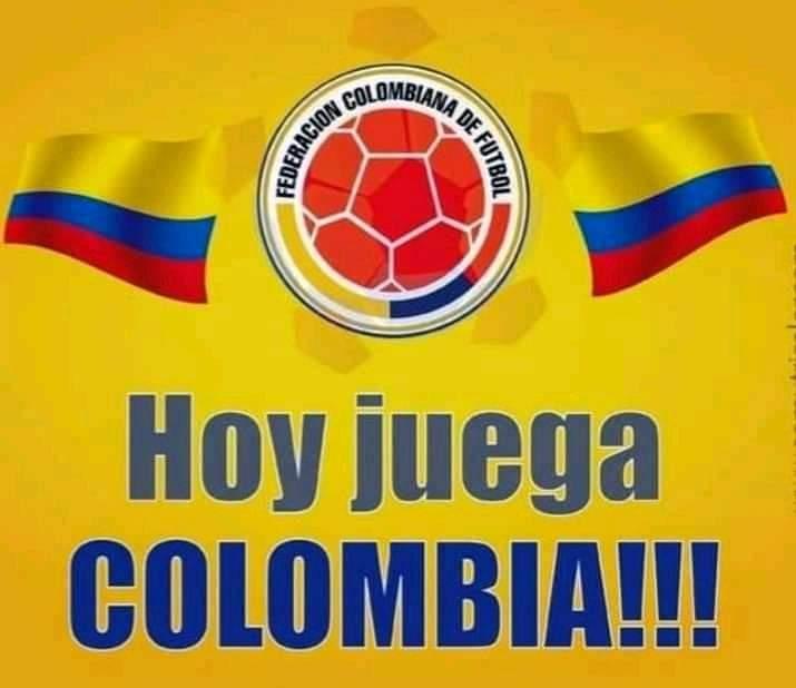 Hoy juega nuestra selección Colombia