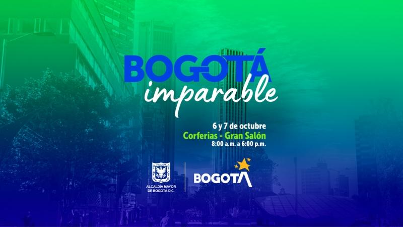 Infórmate sobre incentivos a la inversión privada en los Distritos Creativos en la feria 'Bogotá Imparable'